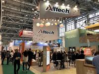 Стенд компании Alltech на выставке ЗерноКомбикормаВетеринария 2020